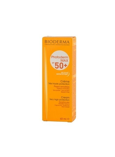 Bioderma BIODERMA Photoderm Max Cream 40 ml (SPF50+ UVA38) Renksiz